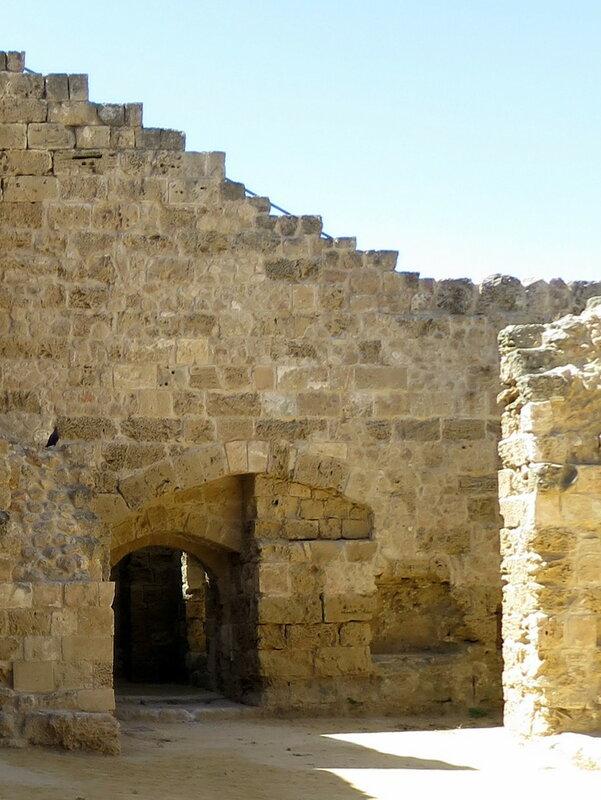 Фамагуста. Крепость. Арочный вход в южной стене (8)