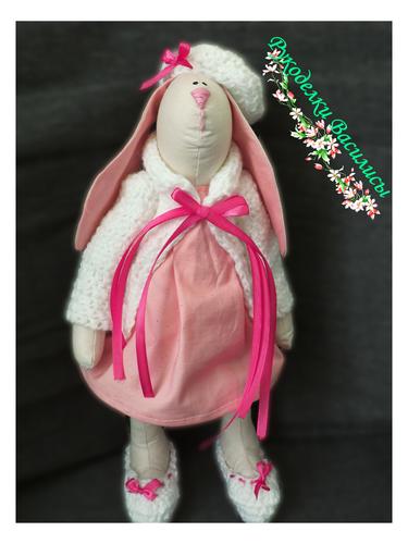 заяц тильда, ручная работа. текстильные игрушки, подарки, рукоделки василисы
