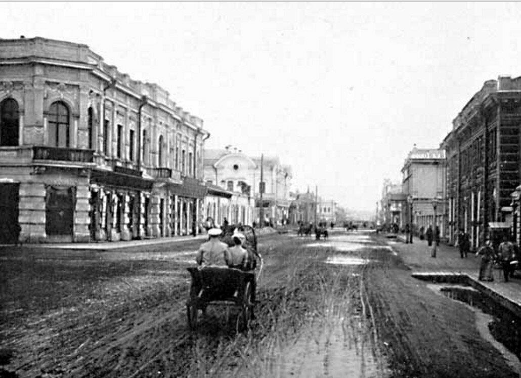 55. Иркутск. Улица Большая
