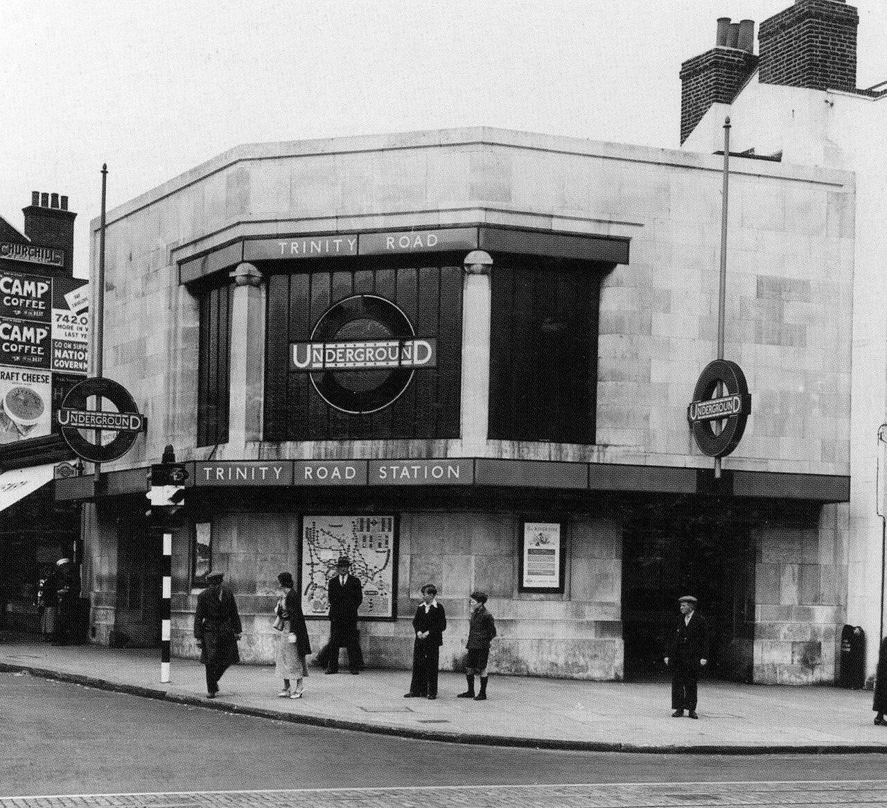 1980-е. Станция «Тринити Роуд»