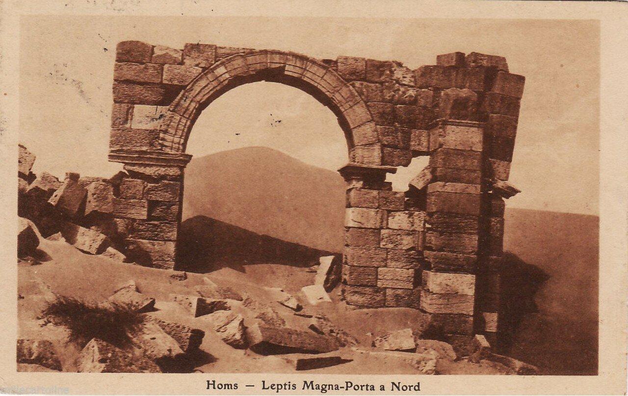 Лептис-Магна. Северная арка. 1926