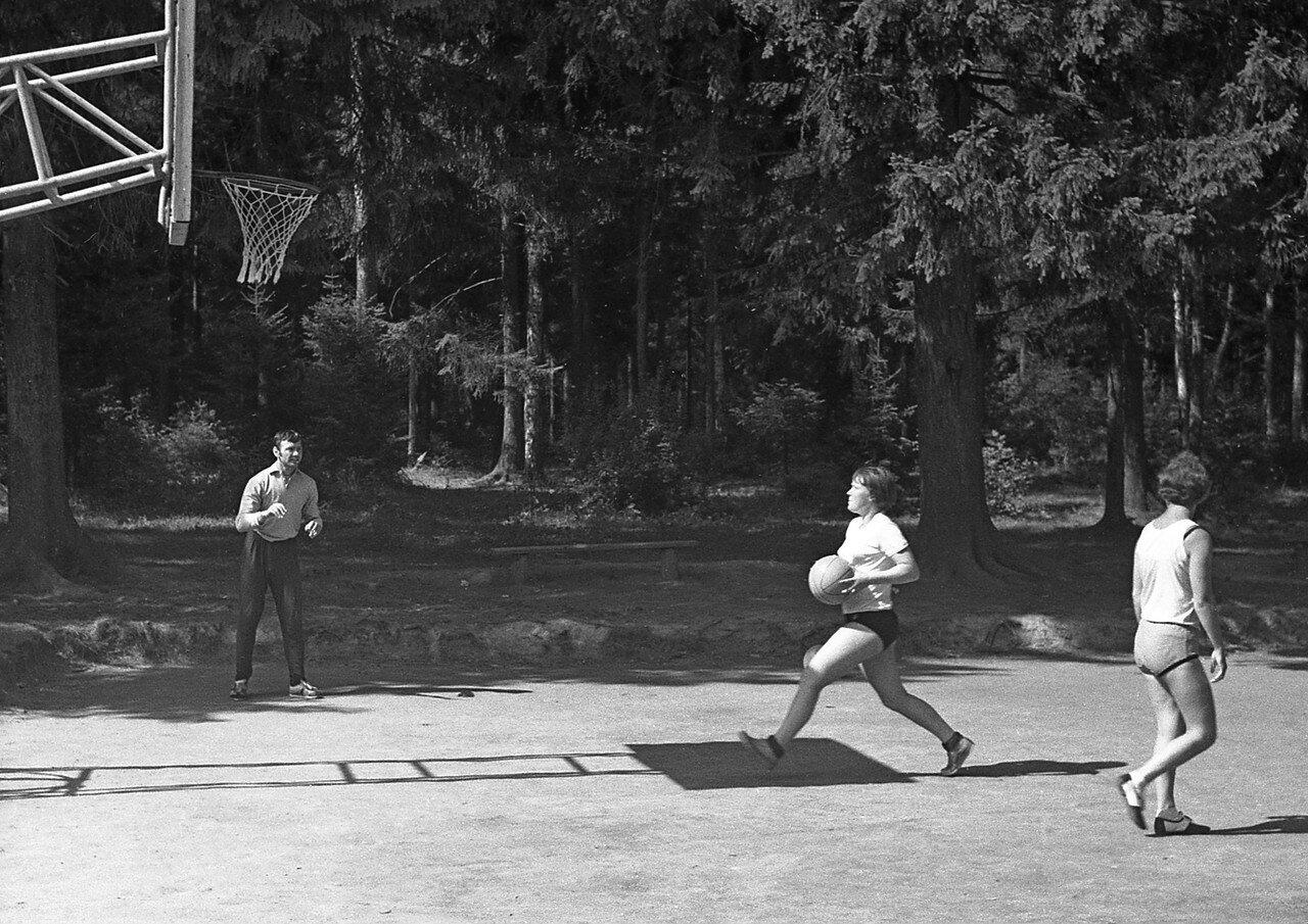 23. Баскетбол - тренировка