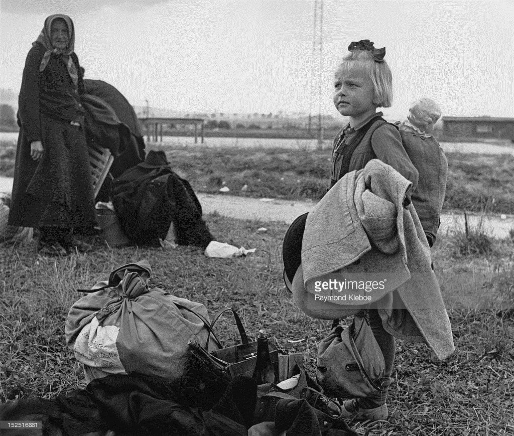 Изгнание немцев из Чехословакии. 1945 год.