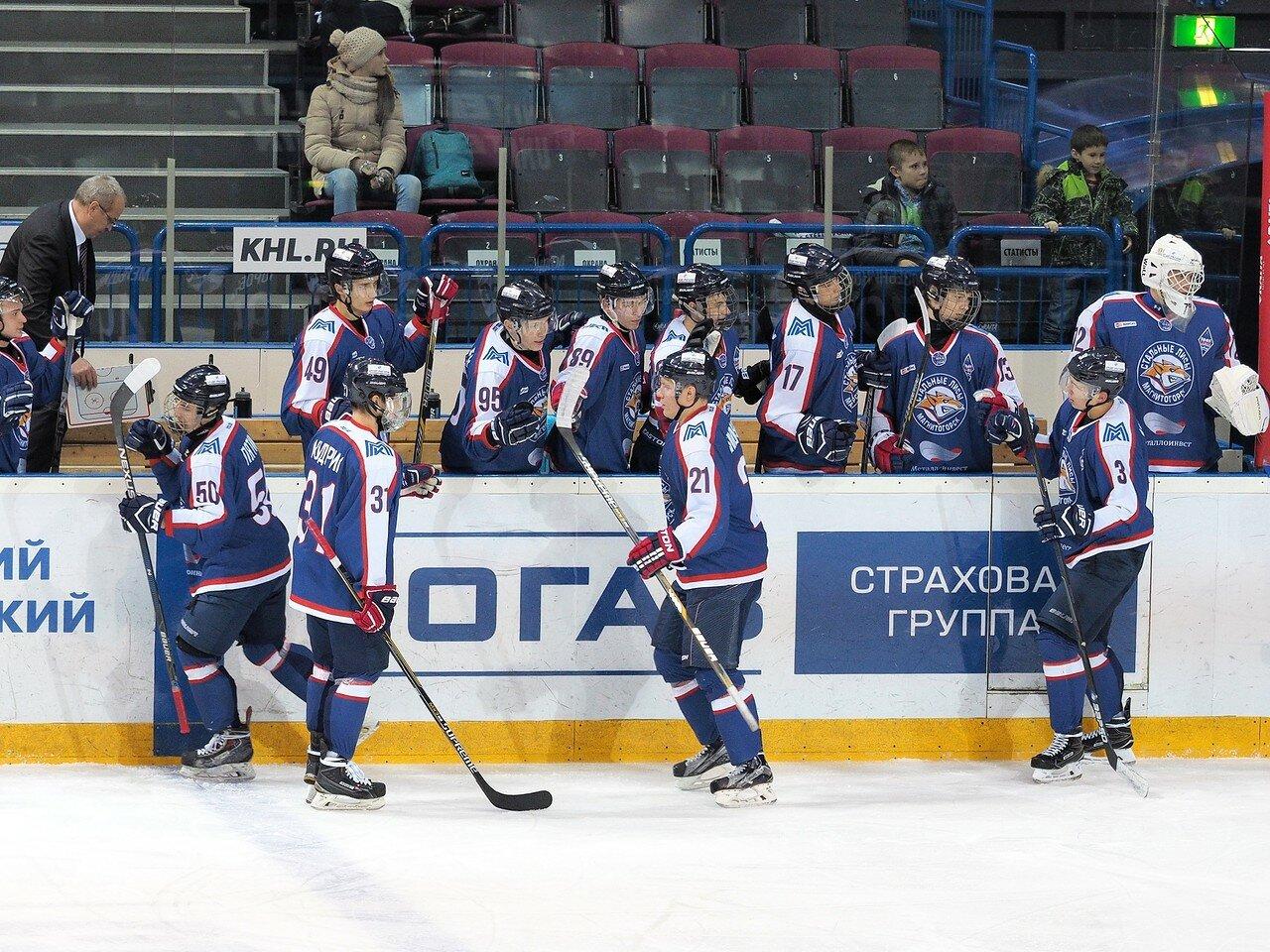 65Стальные Лисы - Омские Ястребы 13.12.2016