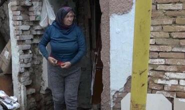 Пожилая жительница Бельц живёт в полуразрушенном доме