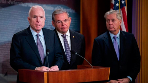 ВСенат США подан проект, придающий санкциям противРФ статус закона