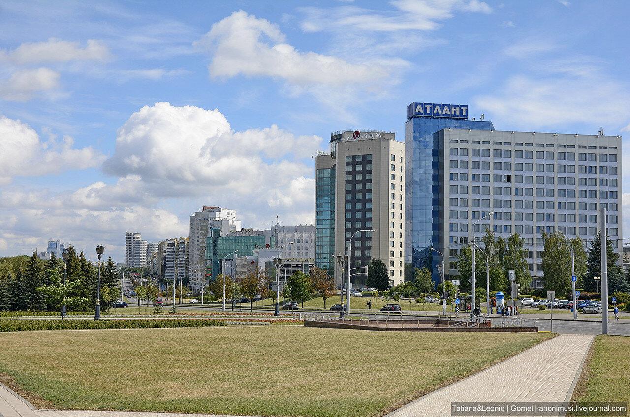 Летний Минск
