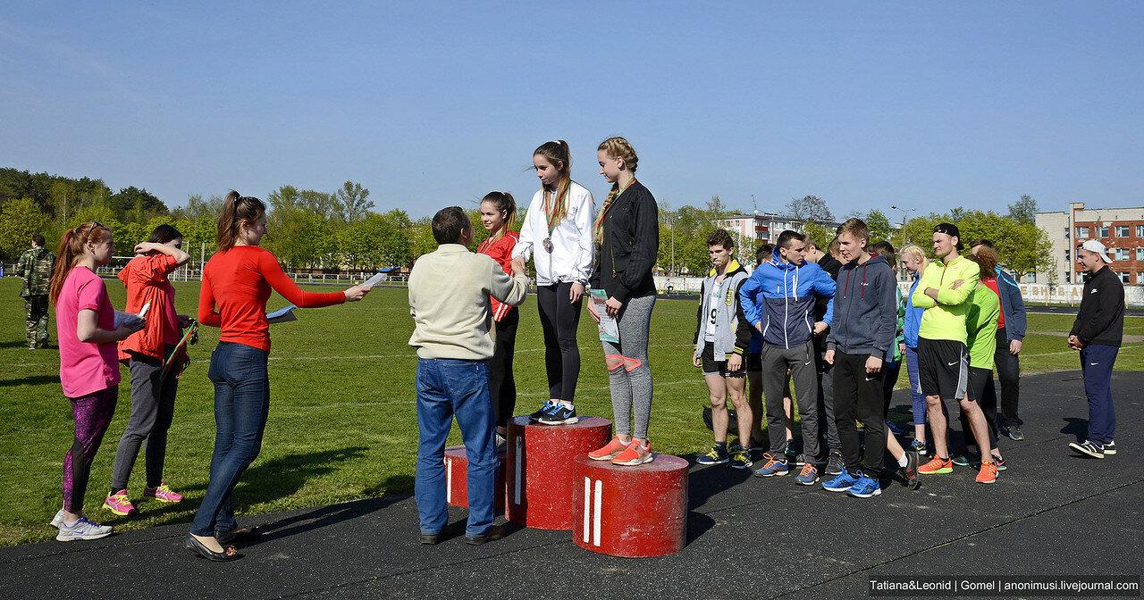 Областные соревнования по легкой атлетике памяти Склезнева. Гомель