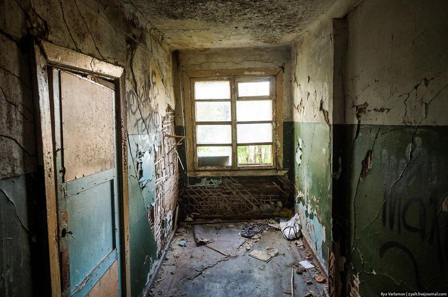16. Это коридор жилого дома.