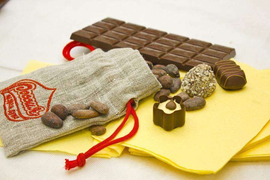 Самара - родина шоколада. В самом сердце России