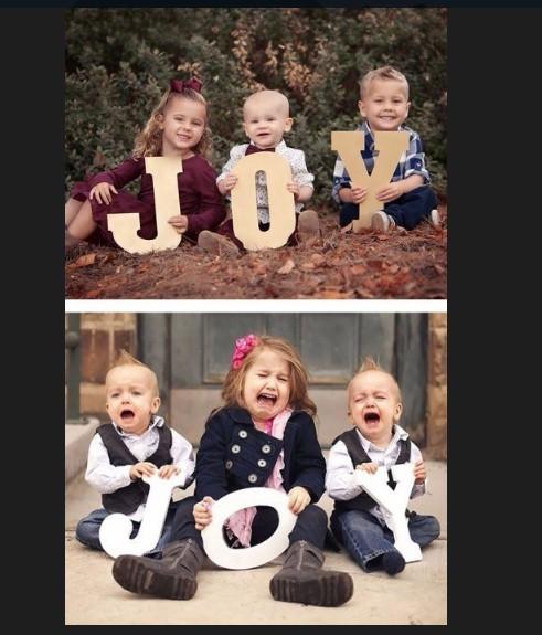 10 забавных фотоснимков малышей, которые должны были выглядеть, как в глянцевых журналах