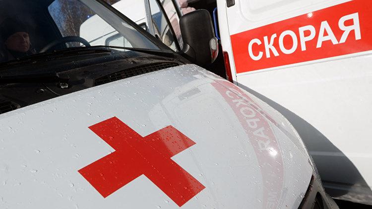 Навостоке столицы напереходе фургон сбил женщину с 2-мя детьми