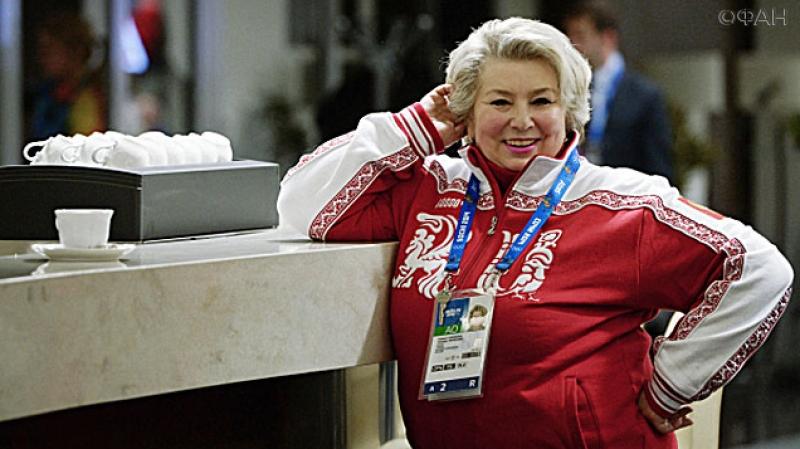 Владимир Путин наградил Татьяну Тарасову