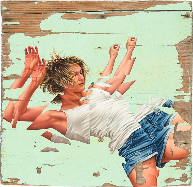 Breaking Point - The fragmented bodies of James Bullough