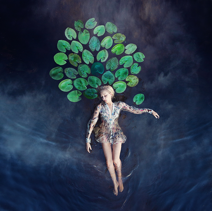 Dreamlike Conceptual Self-Portraits Fused with Dance by Kylli Sparre