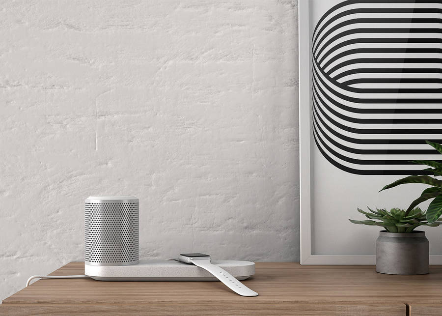 Wireless Charging Station & Speaker (9 pics)