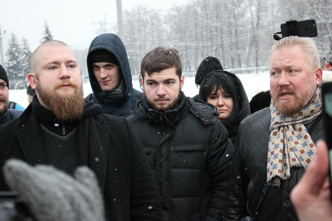 Иван Белецкий и Юрий Горский