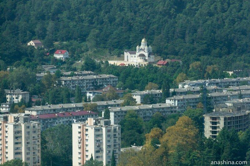 Церковь Казанской иконы Божией Матери, Дагомыс