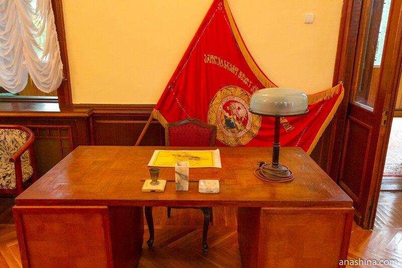 Стол секретаря Сталина, дача Сталина в Сочи