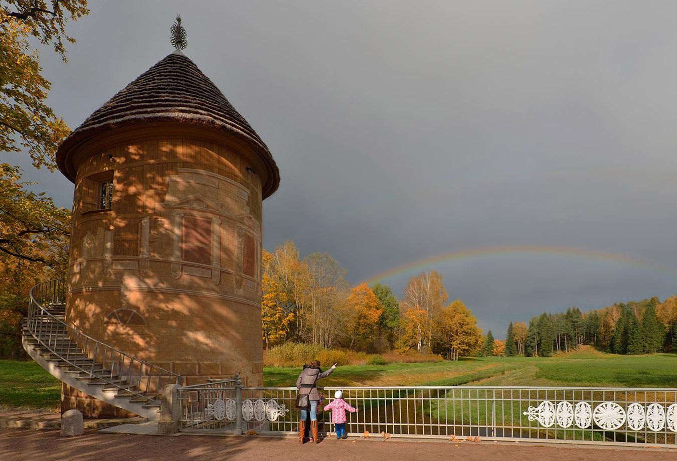 Фотография 18. Пиль-башня. Четыре радуги. 1/640, 0.33, 6.3, 160, 18.