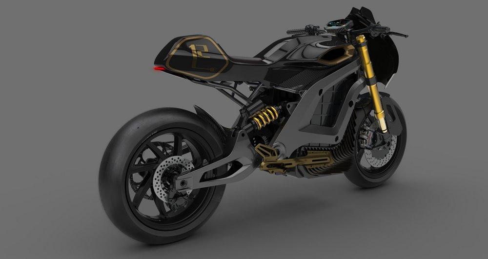 Электроцикл Volt Lacama