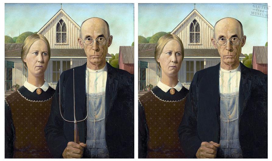 Gluten Free Famous Art Work