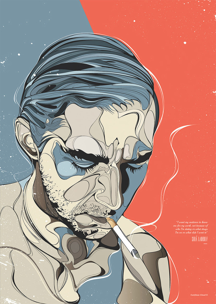 Pop Culture Illustrations by Emmanuel Mdlalose