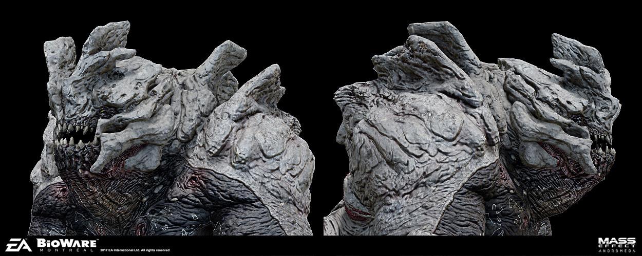 Mass Effect: Andromeda Concept Art by Furio Tedeschi