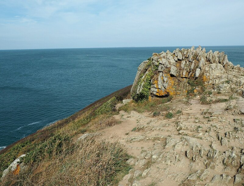 Франция, мыс Груэн (France, Pointe du Grouin)