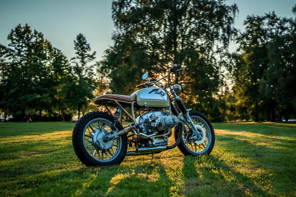 NCT Motorcycle: Кастом BMW R100T Toastbrot