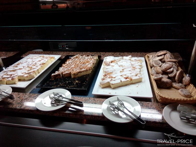 десерты Сочи парк отель