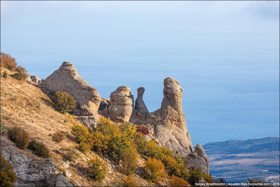 Осень в Крымских горах