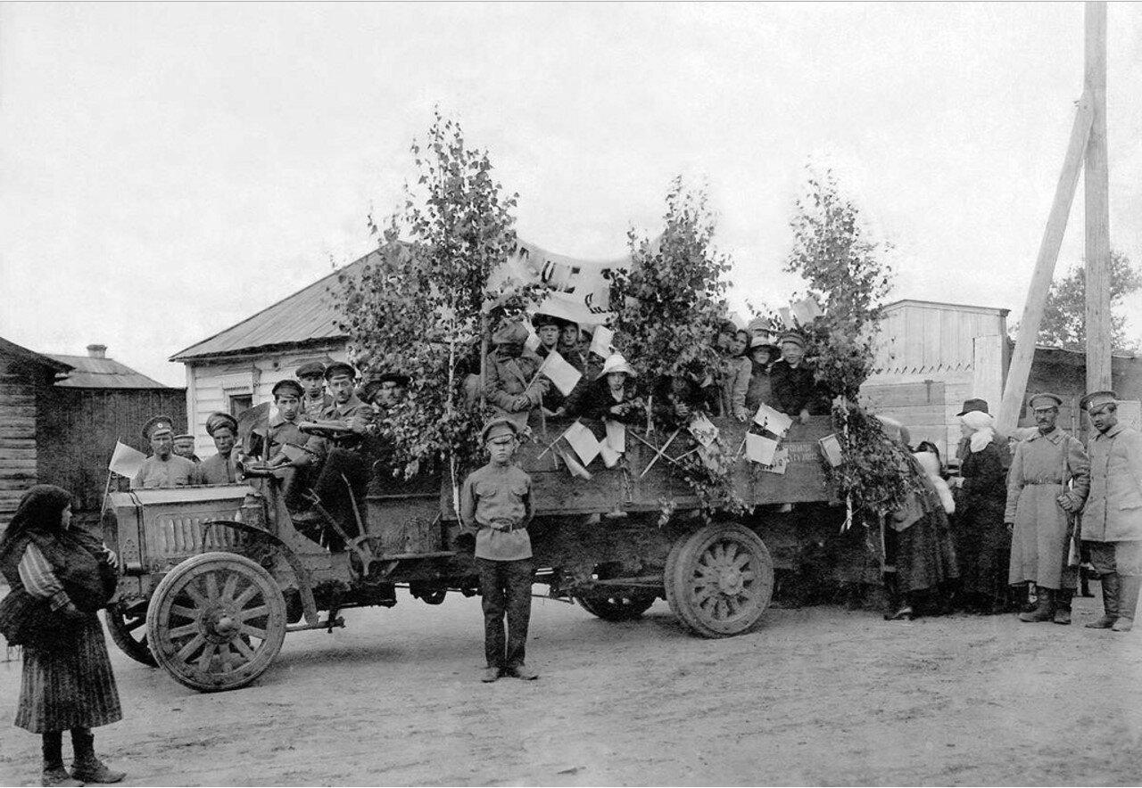 Проведение праздника 1 Мая для детей. 1917