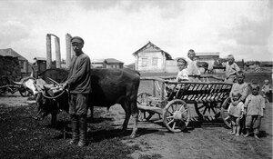 1925. Троицкий округ. Семья переселенца