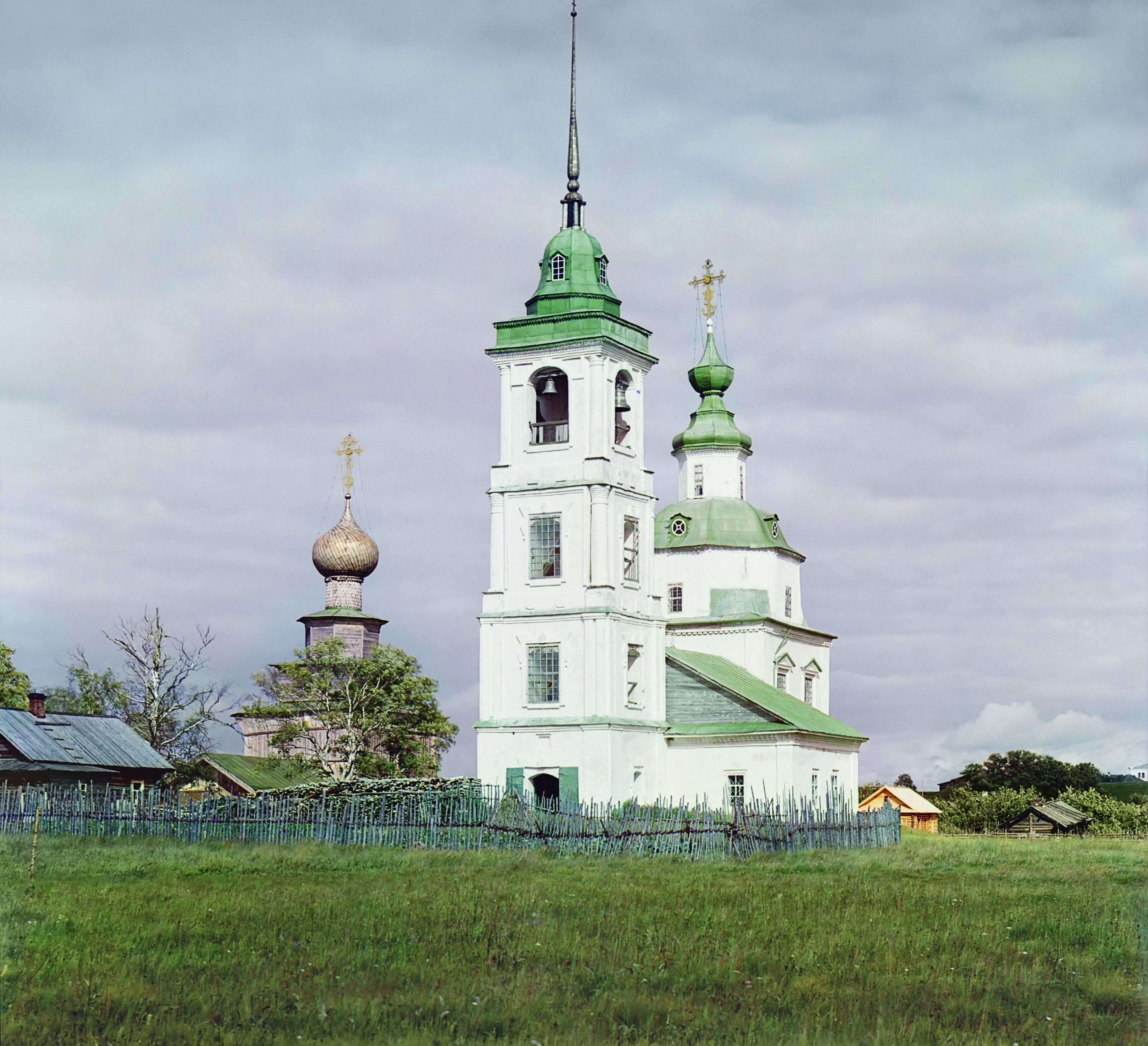 Белозерск. Церковь Пресвятой Богородицы