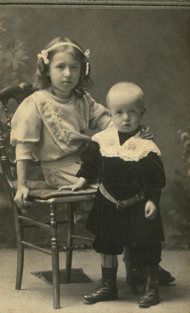 Софья и Иван Сокольские. 1908-1909