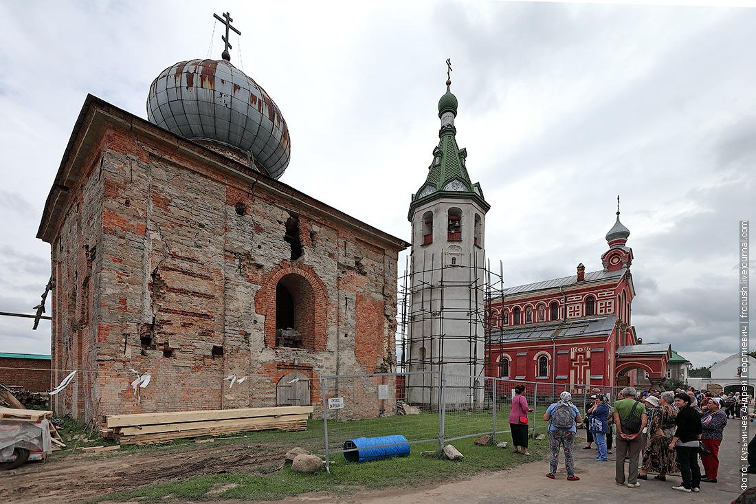 Старо-Ладожский Никольский Мужской Монастырь