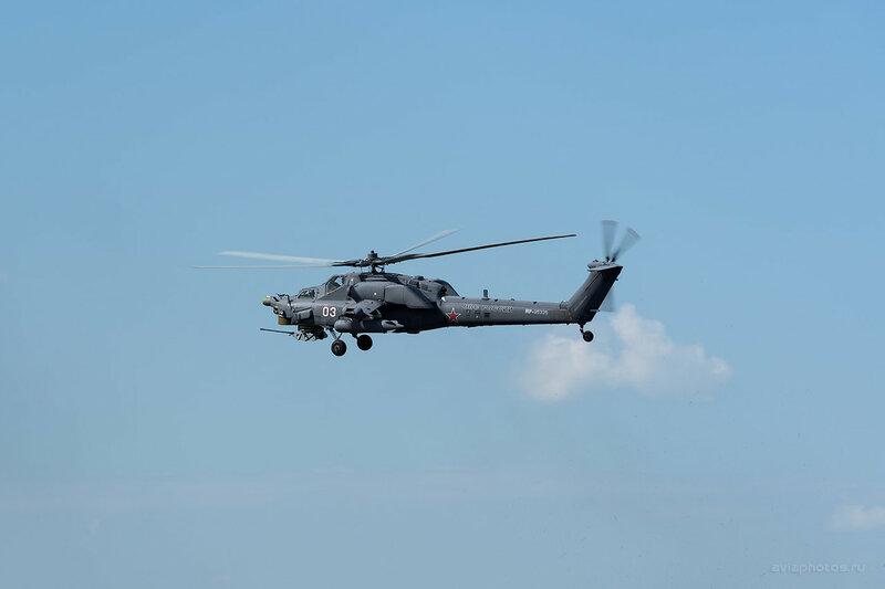 Миль Ми-28Н (RF-95326 / 03 белый) ВКС России D803182