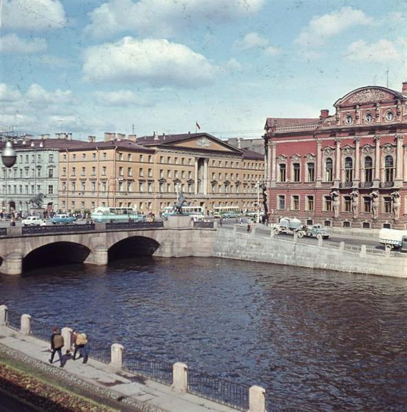 1960е Аничков мост. Тарасевич3.jpg