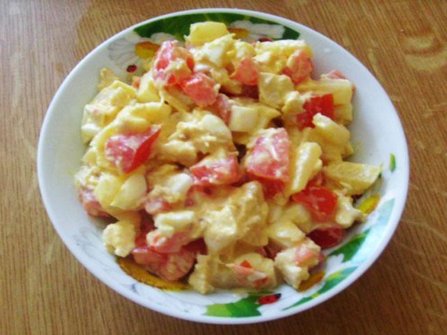 Рецепт салата софия с