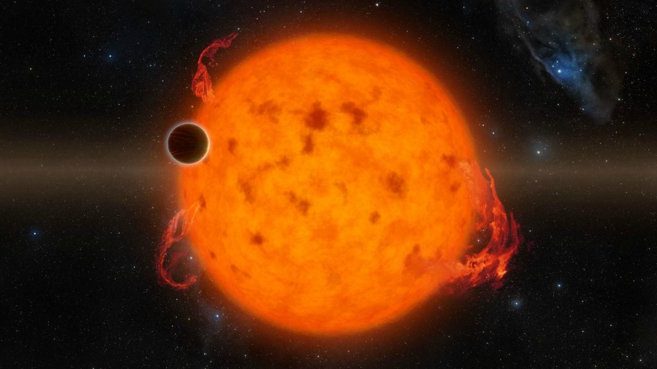 Горячие Юпитеры могут раздуваться под воздействием звезд