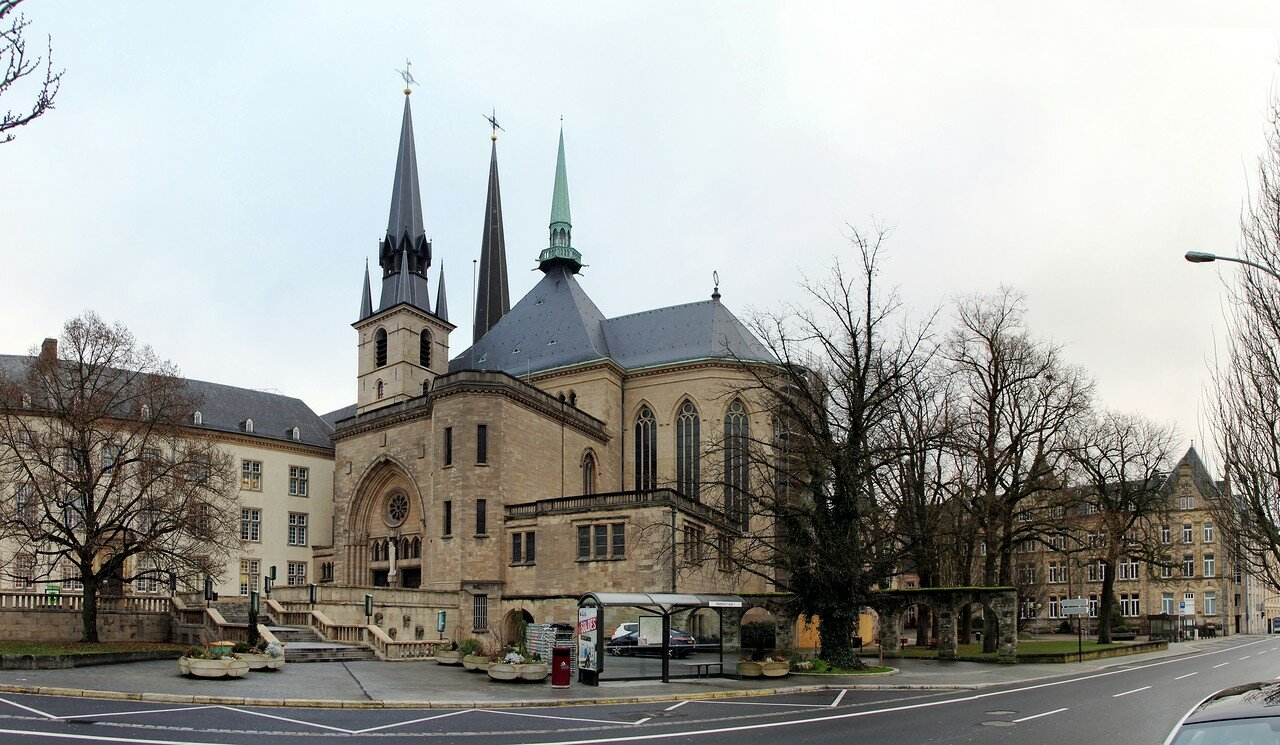 Notre-Dame Cathedral of Luxembourg (Kathedral Notre-Dame vu Lëtzebuerg)