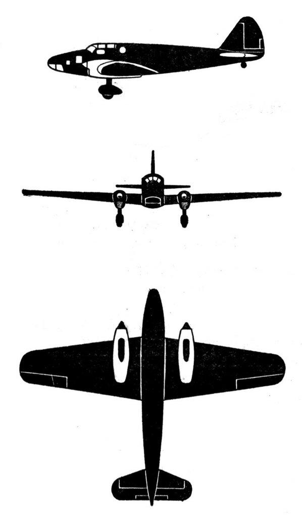 Силуэты итальянских самолетов (1939) 045