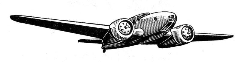 Силуэты итальянских самолетов (1939) 046