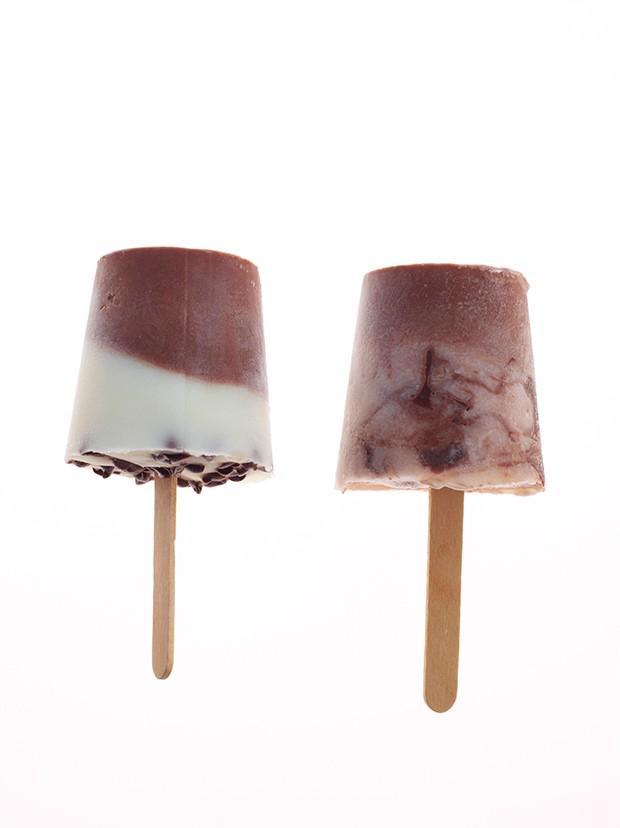 6. Мороженое с кофе, шоколадом и фундуком.