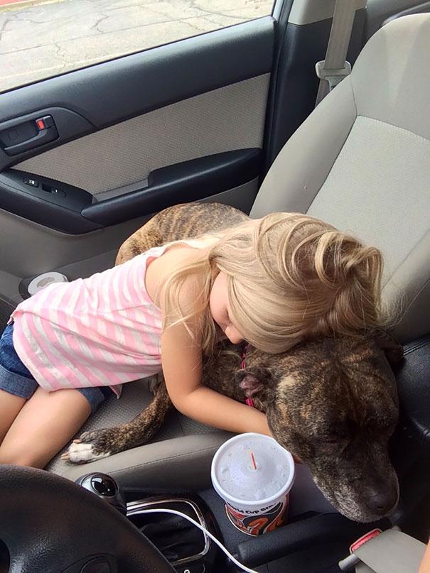 «Малышка узнала, что нашей собаке будут делать уколы в клинике, и, пока мы ждали своей очереди на па