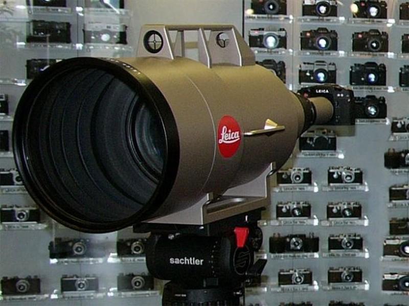 11. Самый дорогой объектив: Leica APO-Telyt-R 1:5.6/1600 мм Катарский принц заплатил за этот уникаль