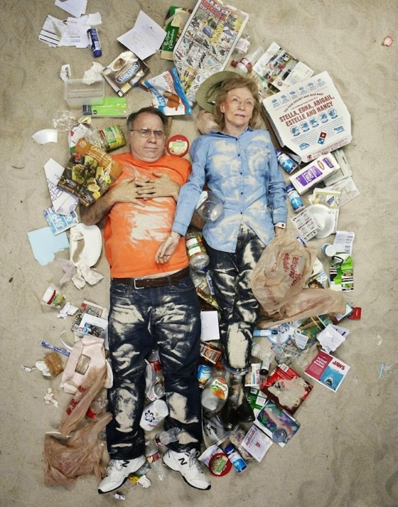 3. Любители скорее почитать, чем поесть Сэм и Джейн Многим участникам фотопроекта стало неловко, ког