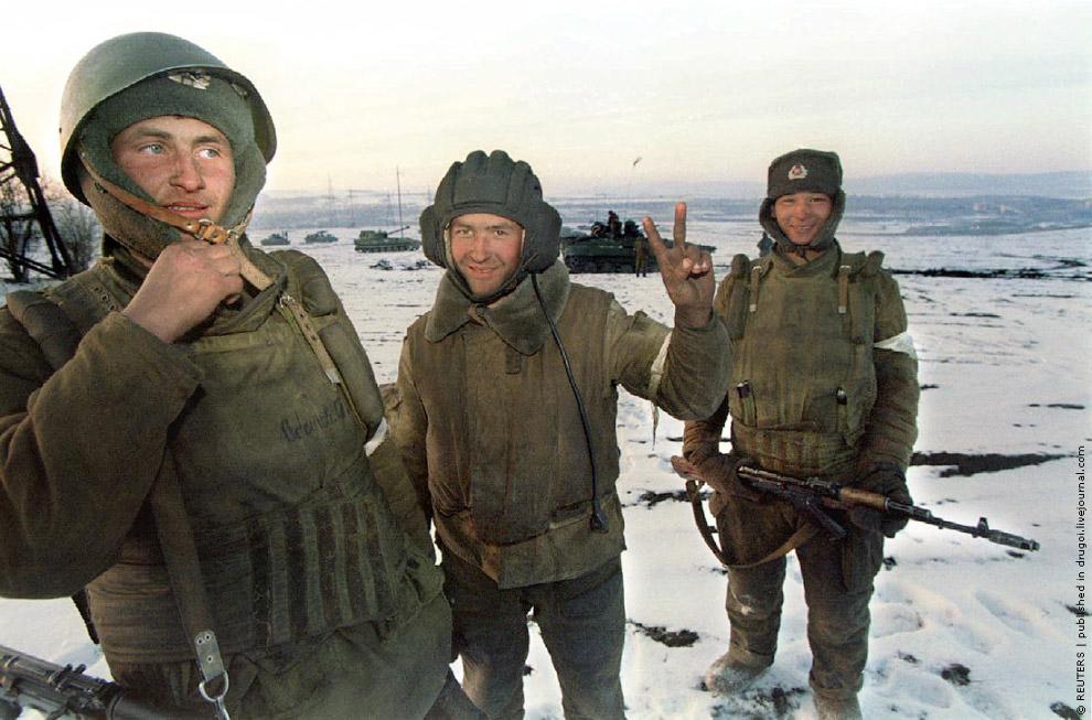 16. У Ачхой-Мартана их уже ждут дудаевцы, 17 декабря 1994: