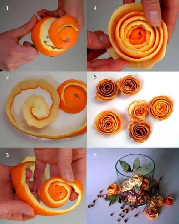 При повышенном давлении и аритмии 1 ст. свежей кожуры мандарина залейте 3 л кипятка. Доведит